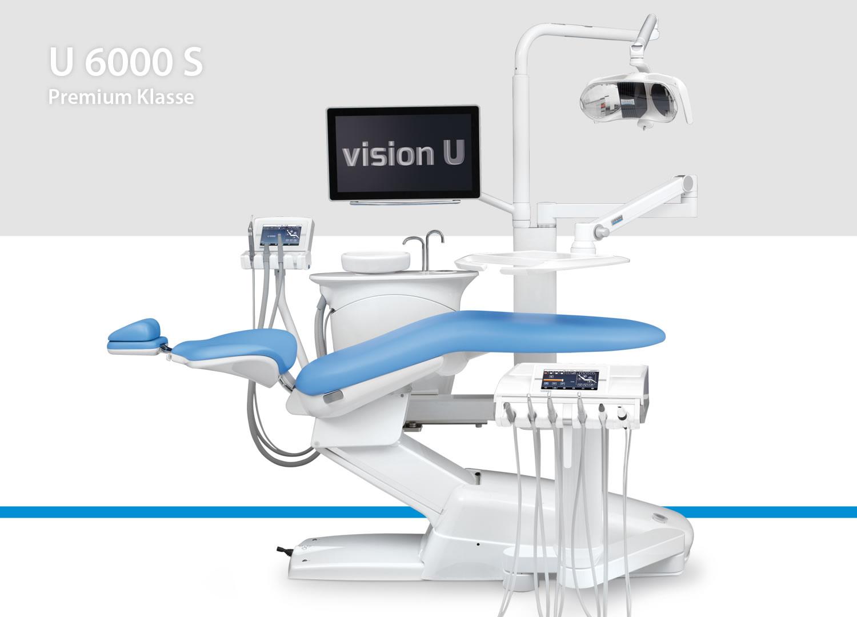 U 6000 S (mit stuhlmontiertem Zahnarztelement)